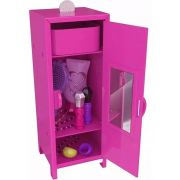 REEMBALADO/MOSTRUÁRIO - MINI ARMÁRIO BARBIE - FAB LOCKER - INTEK
