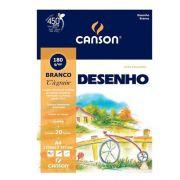 PAPEL DESENHO A4 BRANCO - 66667064 - CANSON - PACOTEC/20 FOLHAS