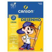 PAPEL DESENHO A4 CREME - 66667072 - CANSON - PACOTE C/20 FOLHAS
