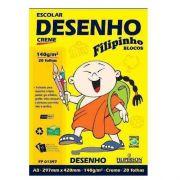 PAPEL DESENHO CREME A4 - FPO1398 - FILIPERSON - PACOTE C/20 FOLHAS