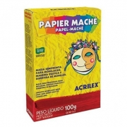 PAPEL MACHÊ 100G - 01210 - ACRILEX