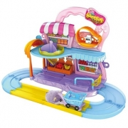 PLAY SET HAMSTERS IN HOUSE - MERCADO HAMSTER - 7705 - CANDIDE
