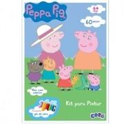 QUEBRA-CABEÇA PARA PINTAR PEPPA PIG 60 PEÇAS - TOYSTER