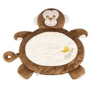 TAPETE FLUFFY MACACO MARROM - 11649 - ANJOS BABY