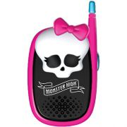 WALKIE-TALKIES MONSTER HIGH PRETO E ROSA - INTEK - REEMBALADO/MOSTRUÁRIO