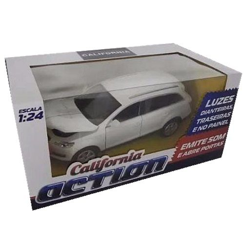 CARRINHO AUDI Q7 - CAL68000 - CALIFORNIA TOYS