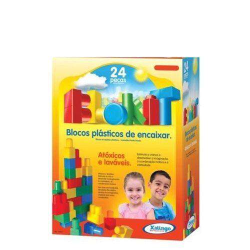 BLOKIT 24 PEÇAS - 04021 - XALINGO