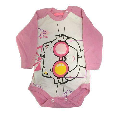 BODY MANGA LONGA - AVENTUREIRA - TAM: P/ M/ G/ XG - CT03 - GET BABY