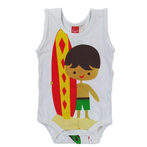 BODY REGATA - SURFISTA - TAM: P/ M/ G - CT02 - GET BABY