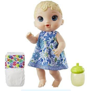 BONECA BABY ALIVE HORA DO XIXI LOIRA - E0499 - HASBRO