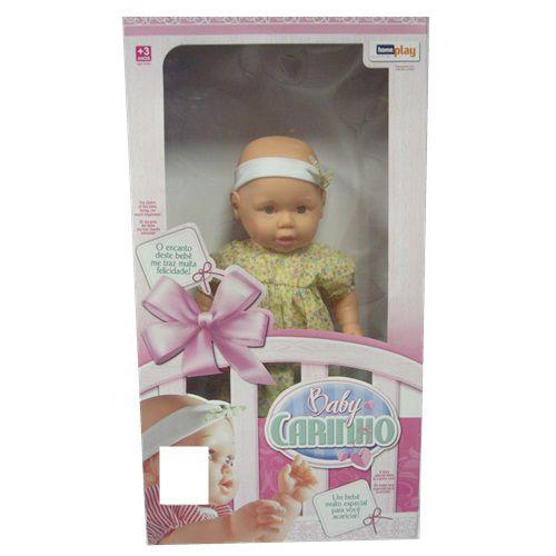 BONECA BABY CARINHO - 3088 - HOMEPLAY