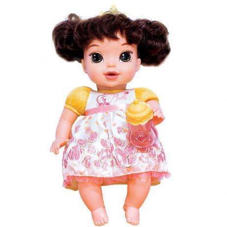 BONECA BABY PRINCESA BELA (PANO COM CABELO) - REF. 6454 - MIMO