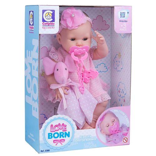 BONECA LOVE BORN - 2380 - COTIPLÁS
