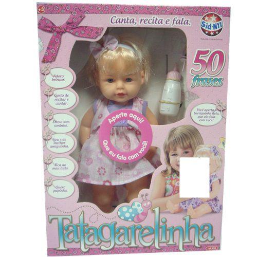 BONECA TAGARELINHA - 650 - SID-NYL
