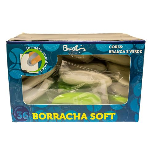 BORRACHA SOFT OVAL - BB21009-36 - BRASILOFFICE - UNIDADE