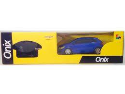 CARRINHO CHEVROLET GM ONIX 1/24 AZUL - QX62TX - CKS