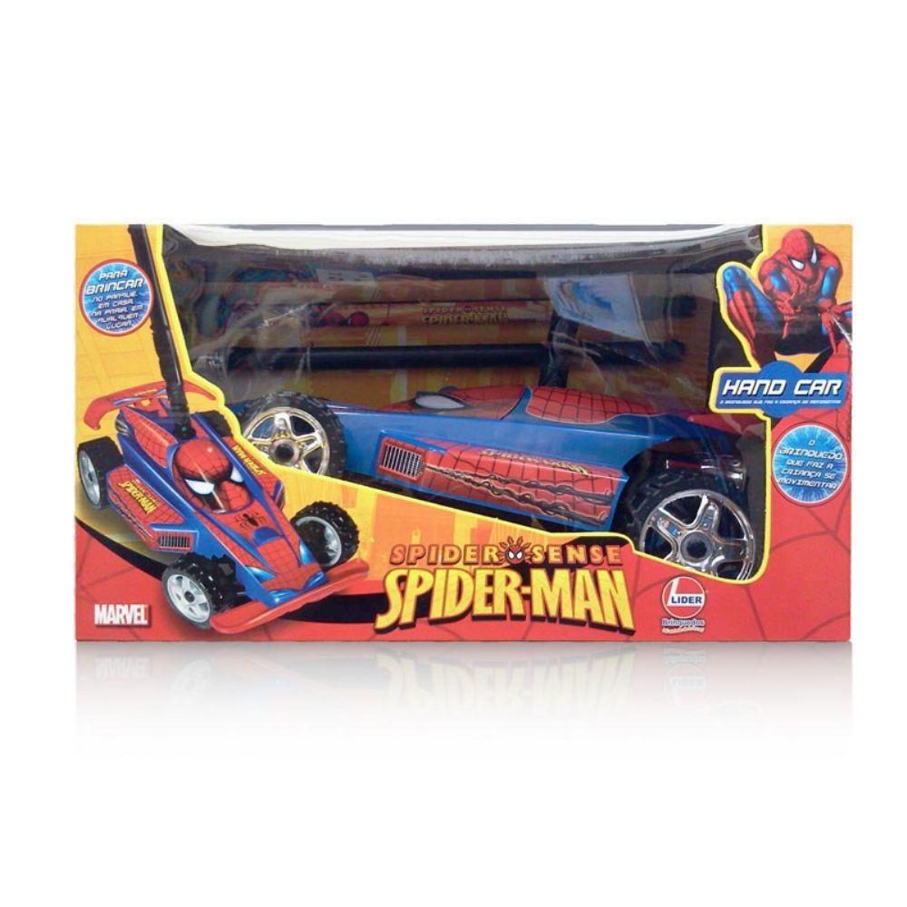 CARRINHO HAND CAR - SPIDER MAN - REF. 234 - LIDER