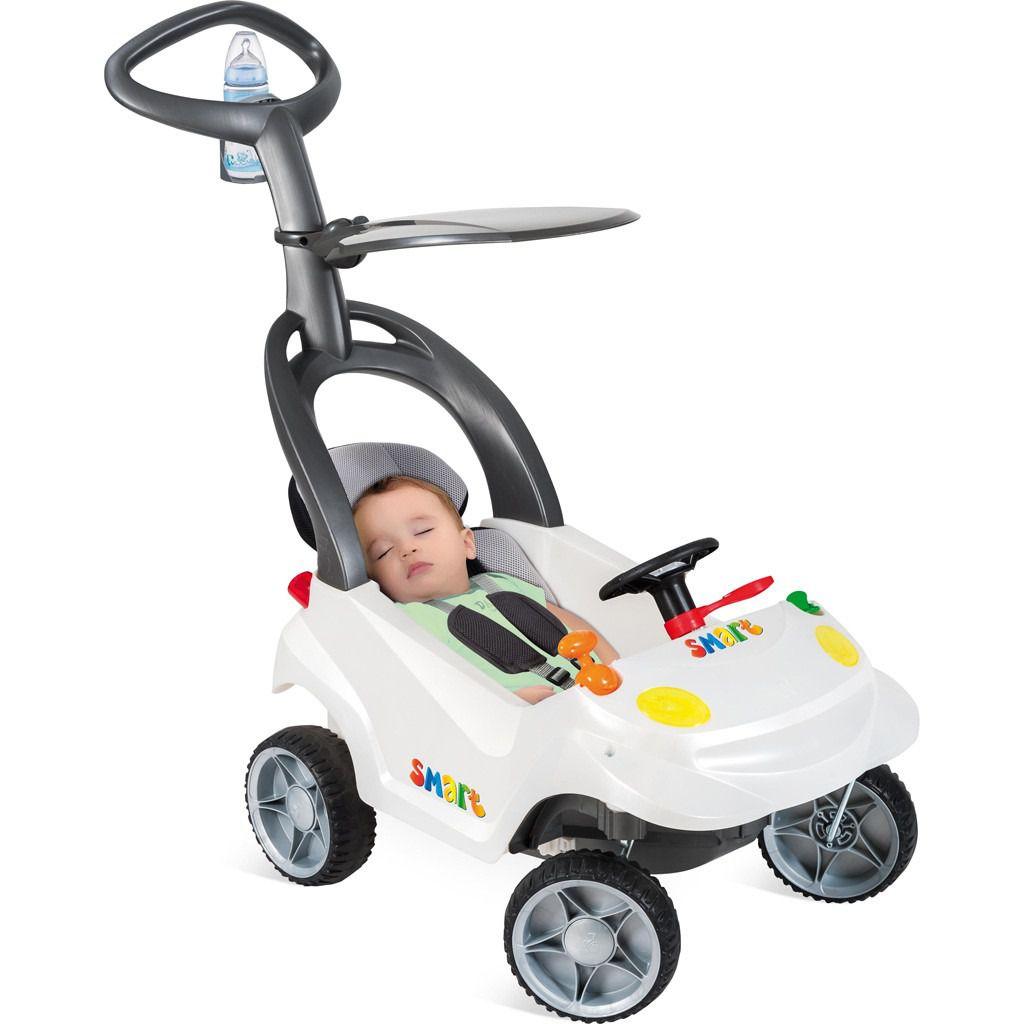 CARRINHO PASSEIO SMART BABY PLUS - BRANCO PEROLI - BANDEIRANTES - 522