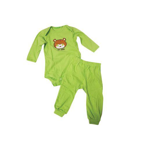 CONJUNTO BODY URSO VERDE TAM G/RN/      CT01-GET BABY