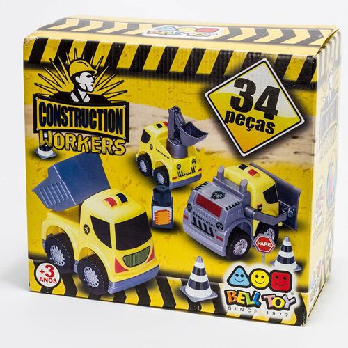 CONSTRUCTION WORKERS - 09087 - BELL TOY