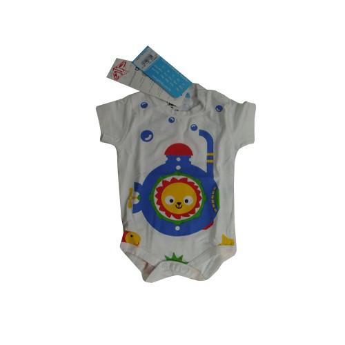 BODY  MANGA CURTA SUBMARINO      TAM P/M/ G/GG/1/2/3/                 CT11 - CET BABY