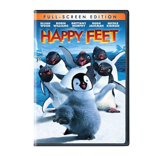 DVD HAPPY FEET O PINGUIM -WBFUN
