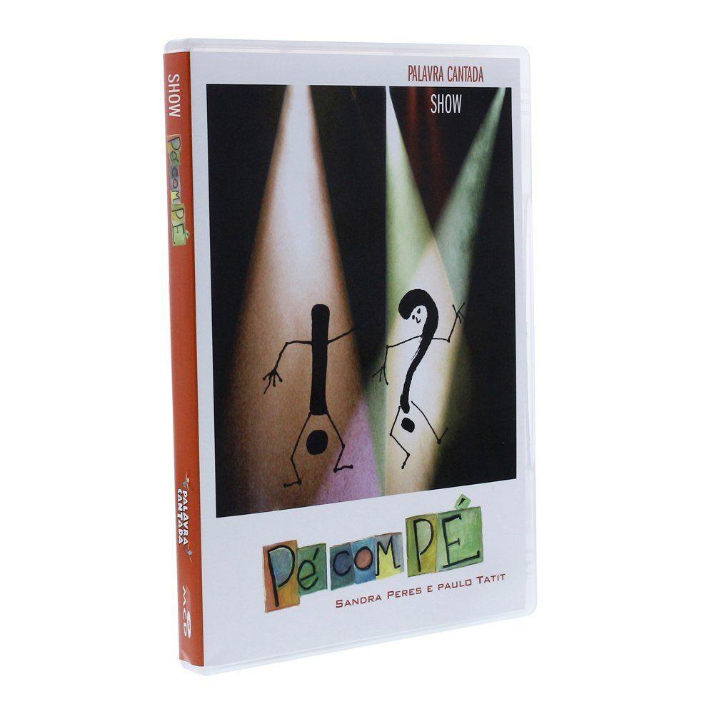 DVD SHOW PÉ COM PÉ - AU0001000 - MCD