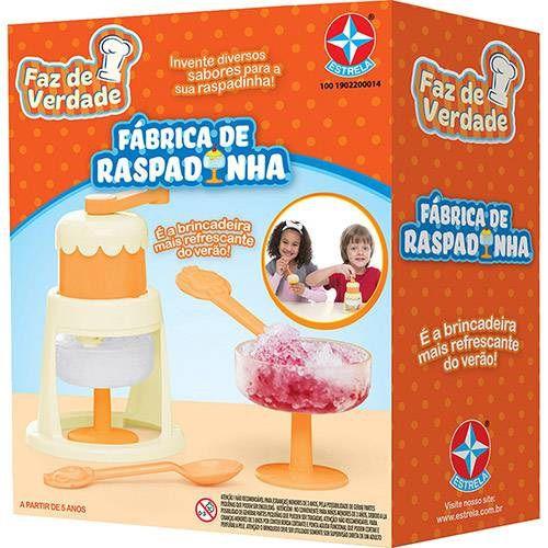 FABRICA DE RASPADINHA - 1001902200014 - ESTRELA