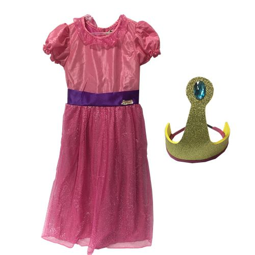 FANTASIA PRINCESA JUJUBA - ADVENTURE TIME TAM PP/P - CT05 - SULAMERICANA
