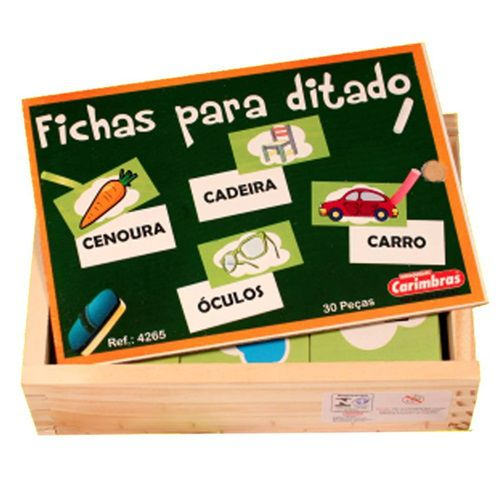 FICHAS PARA DITADO - 4265 - CARIMBRAS