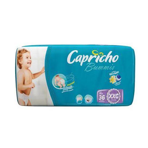 FRALDA INFANTIL BUMMIS TAM XXG - PACOTE COM 36 UNIDADES - CAPRICHO