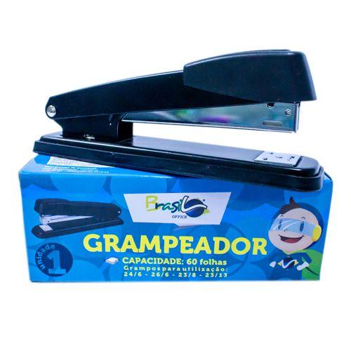 GRAMPEADOR DE MESA 26/6 - 24/6 - 23/8 - 23/13 ATÉ 60 FOLHAS - BB31066-PR - BRASILOFFICE - UNIDADE