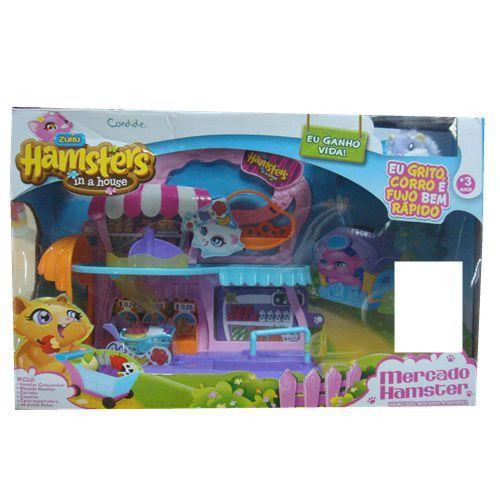HAMSTER HOUSE – MERCADO HAMSTER - 7705 - CANDIDE