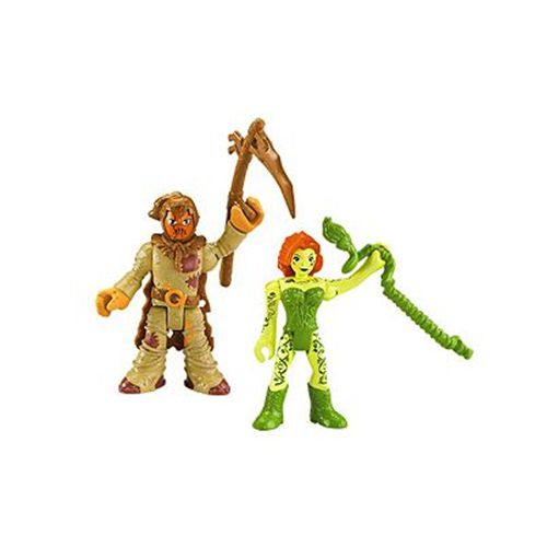IMAGINEXT DC SUPER FRIENDS – ESPANTALHO E HERA VENENOSA - M5645 - FISHER-PRICE
