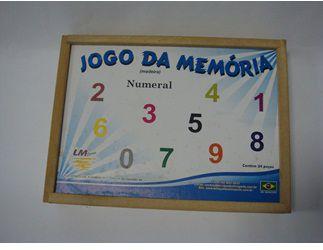 JOGO DA MEMÓRIA - NUMERAL - LM SPORTS