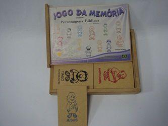 JOGO DA MEMÓRIA - PERSONAGENS BÍBLICOS - LM SPORTS