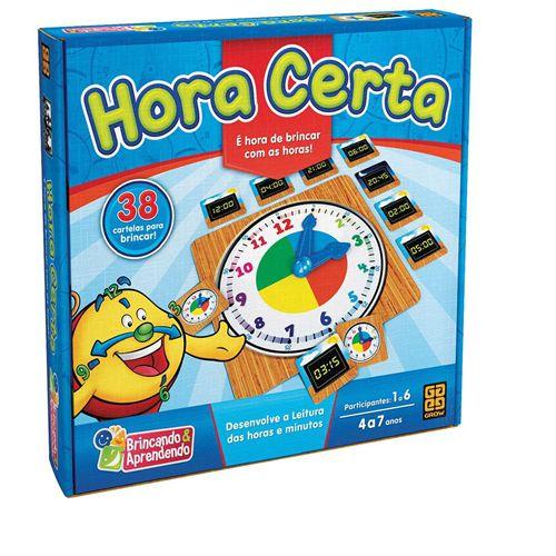 JOGO HORA CERTA - 03183 - GROW