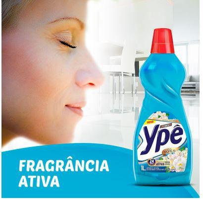 LIMPADOR PERFUMADO AZUL TROPICAL - 1 LITRO - YPÊ PREMIUM