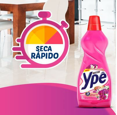 LIMPADOR PERFUMADO DOCE VIDA - 1 LITRO - YPÊ PREMIUM