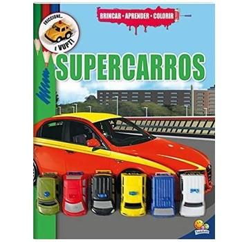LIVRO BRINCAR-APRENDER-COLORIR: SUPERCARROS - 2922-2 - TODO LIVRO