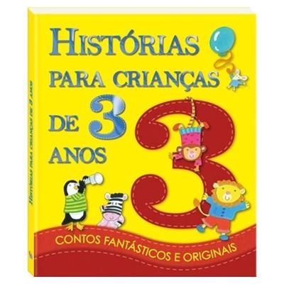 LIVRO HISTÓRIAS PARA CRIANÇAS DE 3 ANOS - 11777- TODOLIVRO