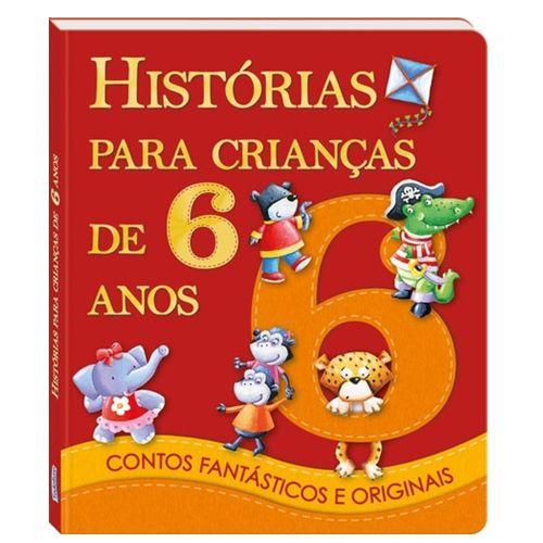 LIVRO HISTÓRIAS PARA CRIANÇAS DE 6 ANOS - 1122959 - TODOLIVRO