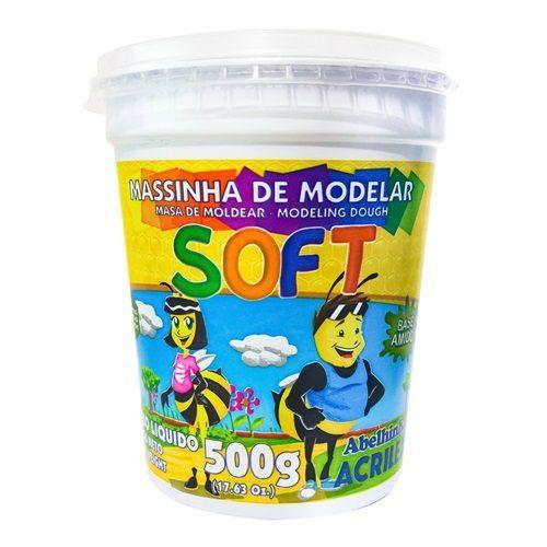 MASSINHA DE MODELAR VERDE 500G - 07350 - ACRILEX