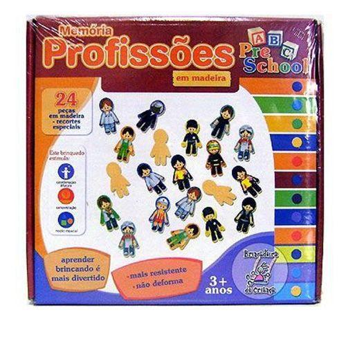 MEMÓRIA PROFISSÕES - 9800 - BRINCADEIRA DE CRIANÇA