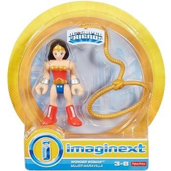MINI FIGURA IMAGINEXT DC SUPER FRIENDS - MULHER MARAVILHA - FISHER-PRICE