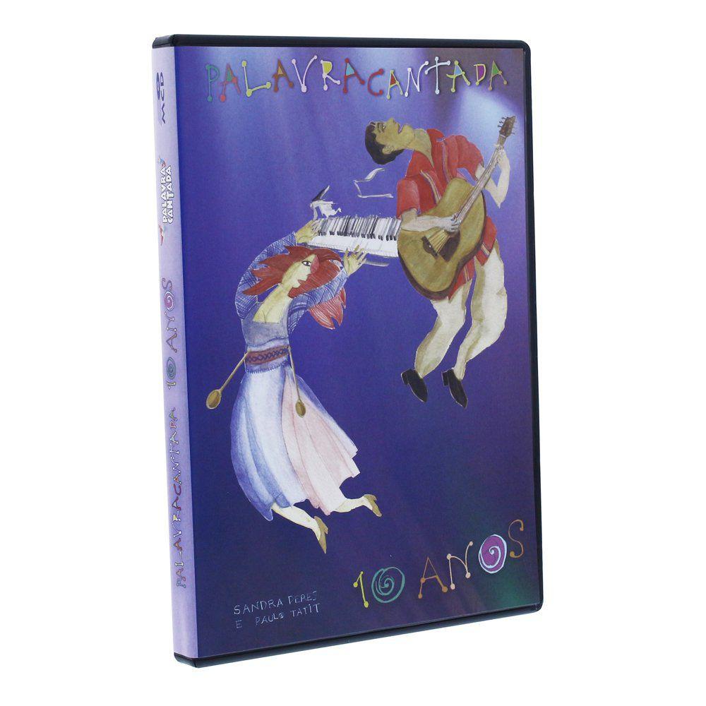 DVD PALAVRA CANTADA 10 ANOS - BO0001000 - MCD