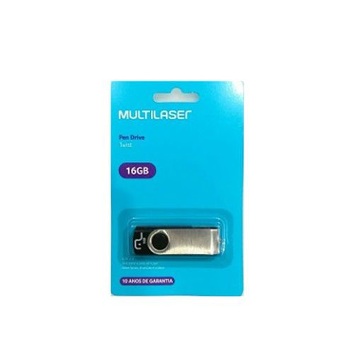 PEN DRIVE 16 GB - PD588 - MULTILASER