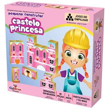 PEQUENO CONSTRUTOR CASTELO PRINCESA - 1468 - CIABRINK