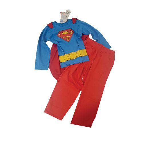 PIJAMA COMPRIDO SUPERMAN FANTASIA TAM 2/4/8/6/ - CT08 - GET BABY
