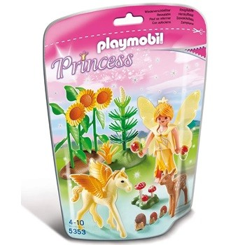 PLAYMOBIL - SOFT BAGS PRINCESAS 5353 - PRINCESA DO OUTONO COM PEGASUS - SUNNY